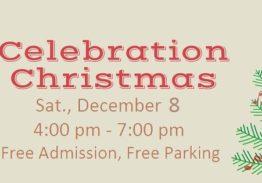 3rd ANNUAL CELEBRATION CHRISTMAS